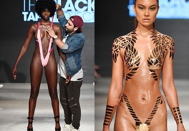 90ccd7746c1 METALLIC TAPE'S are the latest bikini styles in Miami swimwear fashion week  – AUSTRALIALIVENEWS.COM
