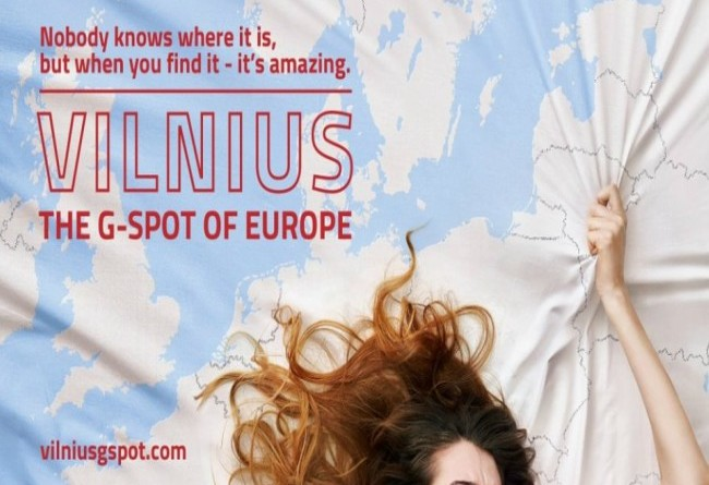 LITHUANIA ADVERTISES SEX AS ITS TOURISM HIGHLIGHT