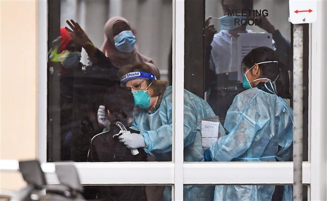 Coronavirus: Australia's Melbourne city to make mask-wearing compulsory
