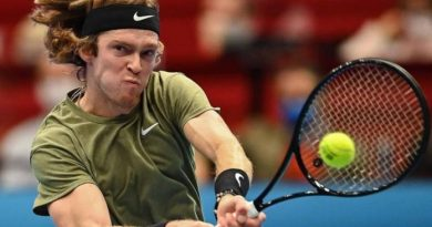 Madrid Open: Russia's Andrey Rublev continues to impress